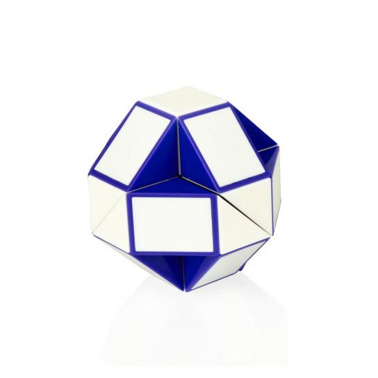 Головоломка Rubik's - Змейка (Бело-Голубая)