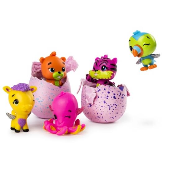 Hatchimals CollEGGtibles: Набор из четырех коллекционных фигурок в яйцах + бонусная фигурка (в ассортименте) Сезон 2
