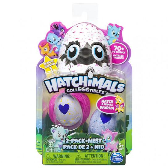 Hatchimals CollEGGtibles: Набор из гнезда и двух коллекционных фигурок в яйце (в ассортименте) Сезон 1