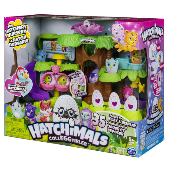 Hatchimals: набор «Домик на дереве»
