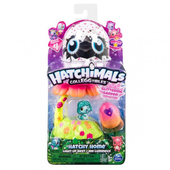Hatchimals: набор из гнезда и фигурки в яйце (Яркий сад)