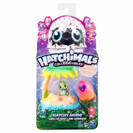 Hatchimals: набор из гнезда и фигурки в яйце (Тропический пляж)