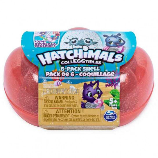 Hatchimals: набор из коралловой ракушки и 6 фигурок (сезон 5)