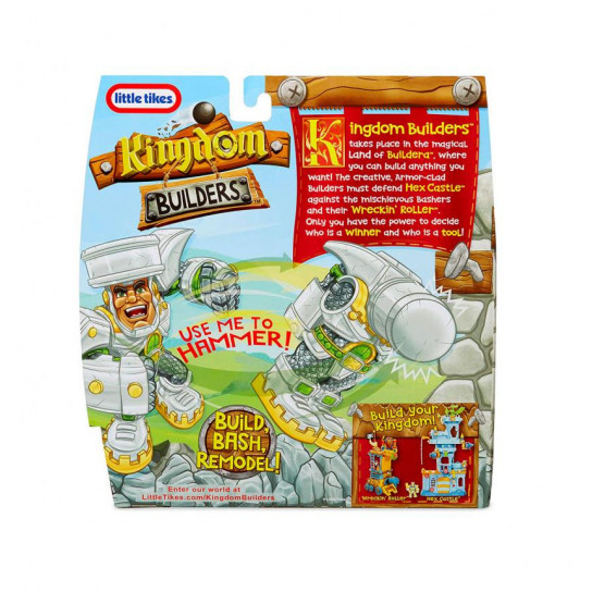 Игровая Фигурка-Трансформер Kingdom Builders – Сэр Молот