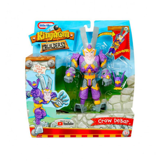 Игровая Фигурка-Трансформер Kingdom Builders – Суровый Гвоздодер