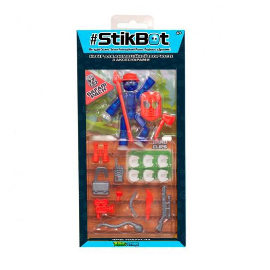 Игровой Набор Для Анимационного Творчества Stikbot S3 - Сафари