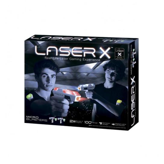 Игровой Набор Для Лазерных Боев - Laser X Мини Для Двух Игроков