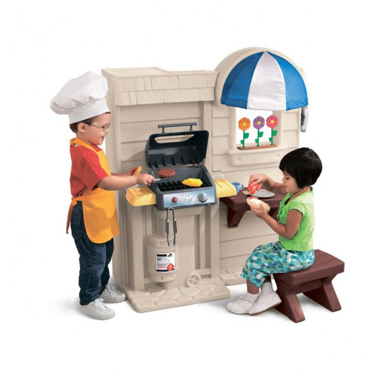 Игровой набор - Кухня с барбекю 2-в-1