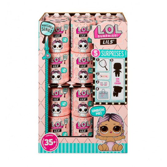 """Игровой набор L.O.L. S5 W1 серии """"Lil's"""" - МАЛЫШИ (в ассорт., в дисплее)"""