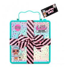 Игровой набор с экскл.куклой L.O.L. Surprise! серии Present Surprise  - Суперподарок (бирюзовый)