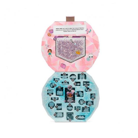 """Игровой набор с эксклюзивной куклой L.O.L. SURPRISE! серии """"Winter Disco"""" - ЗИМНИЙ ЛУК (с аксессуарами)"""