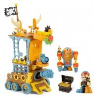 Игровой Набор С Фигуркой Kingdom Builders - Пиратская Пристань