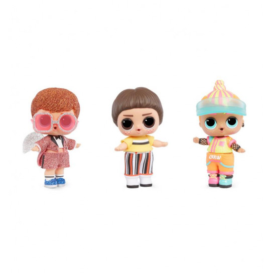 Игровой набор с куклой L.O.L SURPRISE! S6 W2 - МАЛЬЧИКИ