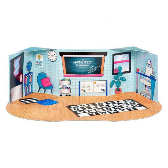 Игровой набор с куклой L.O.L. Surprise! серии Furniture  S2 - Класс Умницы