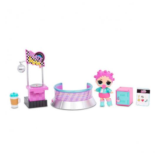 Игровой набор с куклой L.O.L. Surprise! серии Furniture  S2 - Роллердром Роллер-Леди