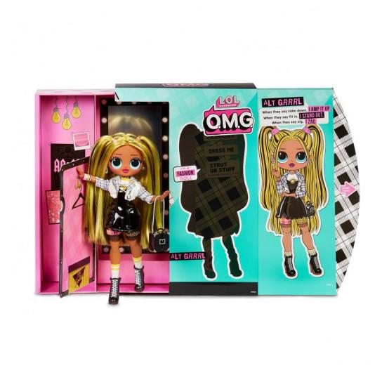 """Игровой набор с куклой L.O.L. SURPRISE! серии O.M.G"""" S2 - ЛЕДИ-ГРАНЖ"""""""
