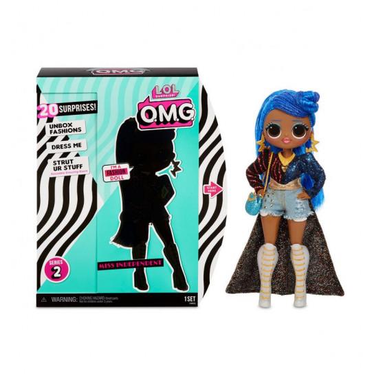 """Игровой набор с куклой L.O.L. SURPRISE! серии O.M.G"""" S2 - ЛЕДИ-НЕЗАВИСИМОСТЬ"""""""