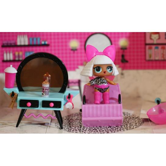 Игровой набор с куклой L.O.L. SURPRISE! - СТИЛЬНЫЙ ИНТЕРЬЕР ДИВЫ