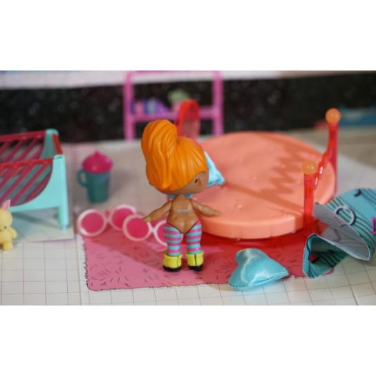 Игровой набор с куклой L.O.L. SURPRISE! - СТИЛЬНЫЙ ИНТЕРЬЕР ЛЕДИ-НЕОН