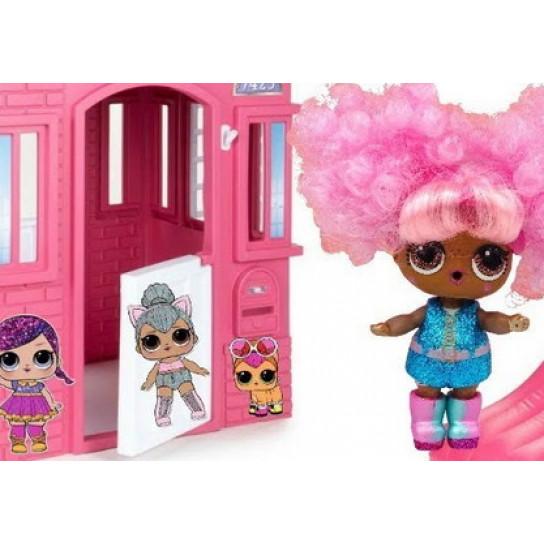 """Игровой набор с куклой L.O.L. S5 W1 серии """"Hairgoals"""" - МОДНОЕ ПЕРЕВОПЛОЩЕНИЕ (в ассорт., в дисплее)"""
