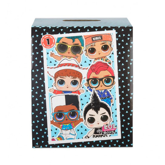 Игровой набор с куклой L.O.L. SURPRISE! - МАЛЬЧИКИ (в ассорт., в дисплее)
