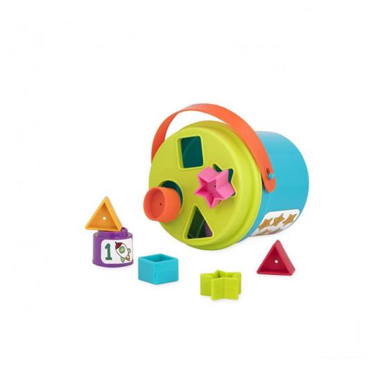 Игровой Набор - Сортер-Пирамидка: Два В Одном