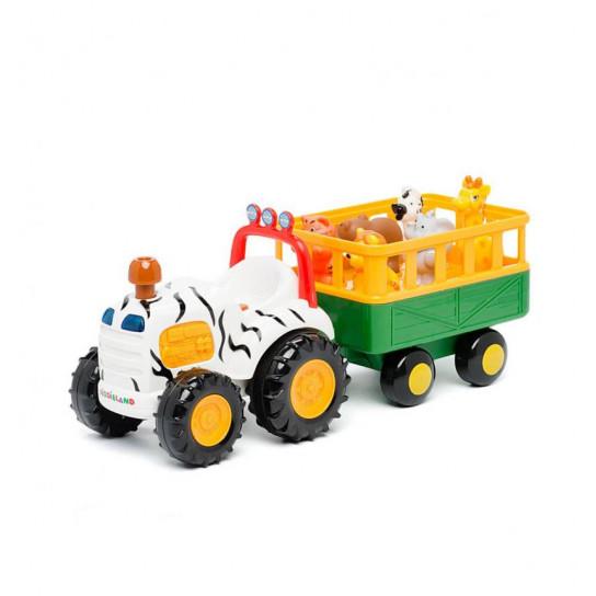 Игровой Набор - Трактор Сафари (Русский)