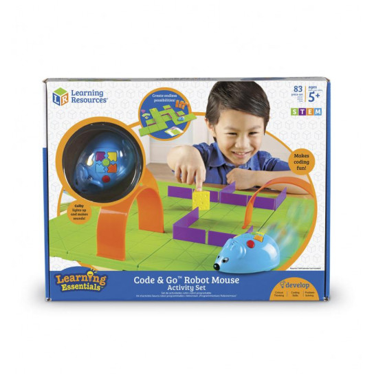 Игровой Stem-Набор Learning Resources – Мышка В Лабиринте (Программируемая Игрушка)