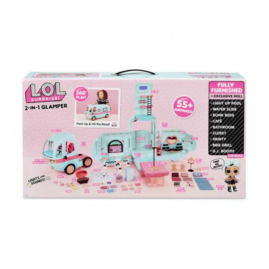 Ігровий набір L.O.L. SURPRISE! – ГЛАМУРНИЙ КЕМПЕР (лялька, аксесуари)