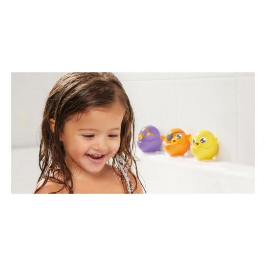 """Игрушка-брызгалка для ванной """"Игривые цыплята"""""""