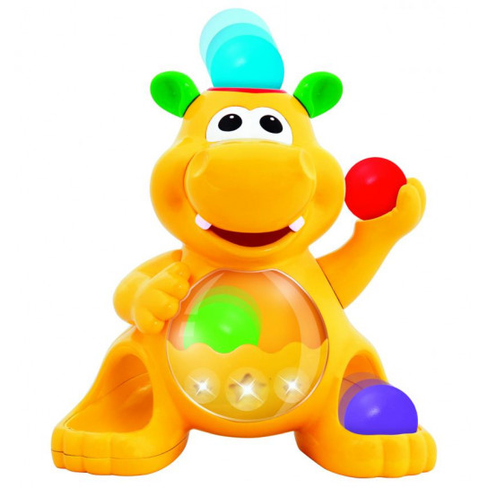 Игрушка - Гиппопотам-Жонглёр