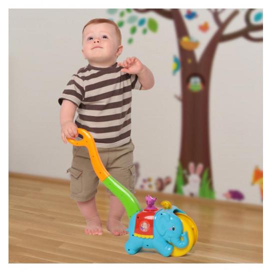 Іграшка-Каталка - Слон-Циркач (Озвуч. Рос. Мовою)