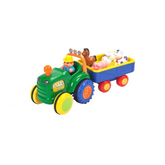 Игрушка На Колесах - Трактор С Трейлером (Украинский)