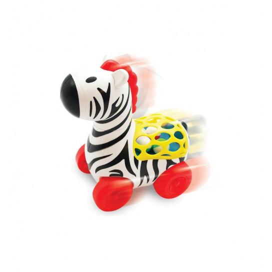 Игрушка На Колесах - Веселая Зебра