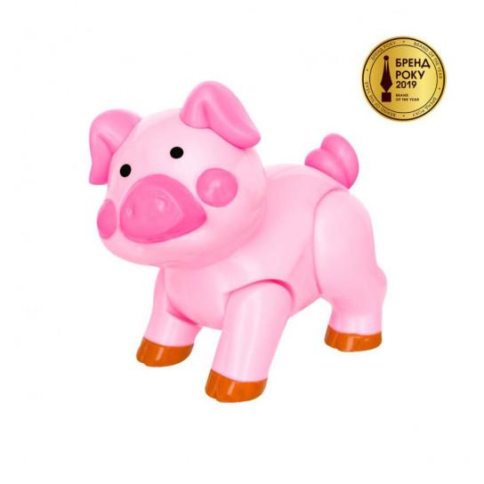 Игрушка - Свинка Со Звуком Трещотки