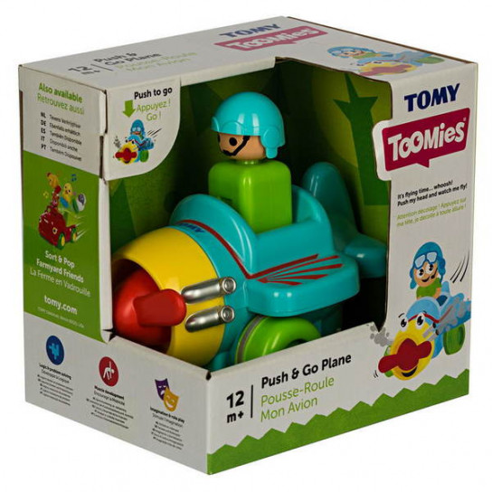 Инерционная игрушка Самолетик