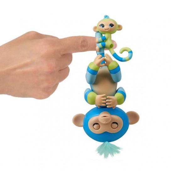 Интерактивная гламурная обезьянка Билли с мини-обезьянкой