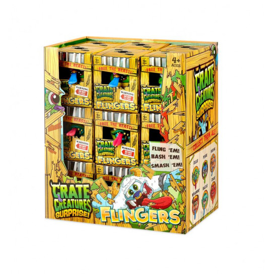 "Интерактивная Игрушка Crate Creatures Surprise! Серии Flingers"" – Фли"""