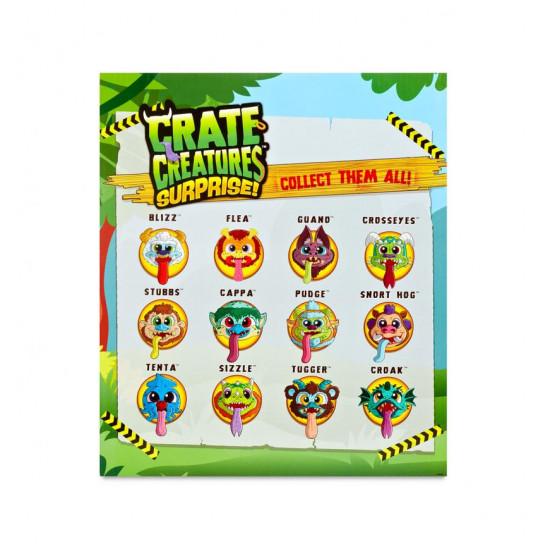 Интерактивная Игрушка Crate Creatures Surprise! Серии Flingers – Кросис