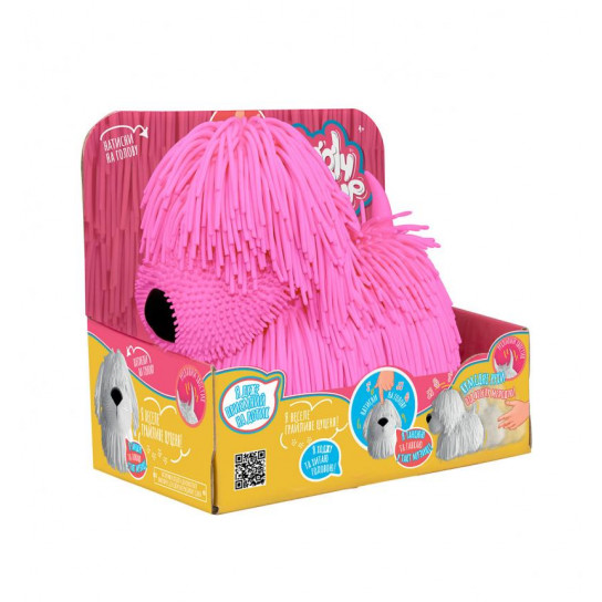 Интерактивная игрушка Jiggly Pup - Озорной щенок (розовый)