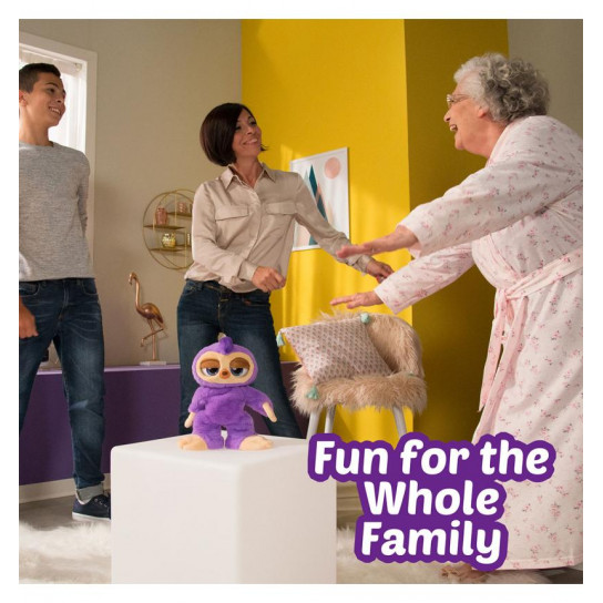 Интерактивная мягкая игрушка Pets Alive Танцующий Ленивец
