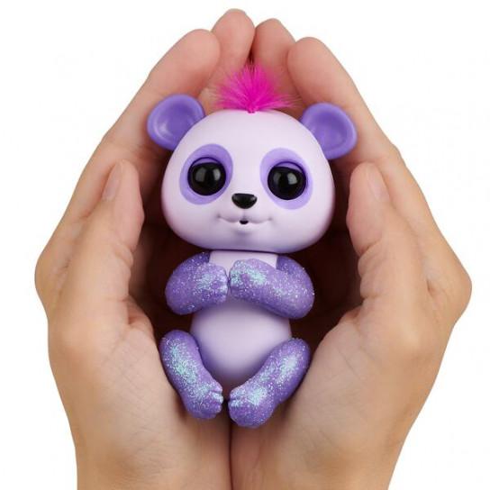 Интерактивная ручная панда Бинни (фиолетовая)