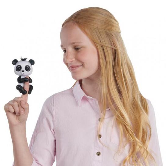 Интерактивная ручная панда Дрю (черный)