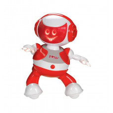 Интерактивный робот DISCOROBO – АЛЕКС (танцует, озвуч. рус. яз., красный)