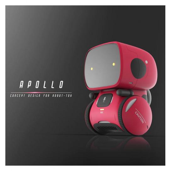 Интерактивный робот с голосовым управлением – AT-ROBOT (красный)