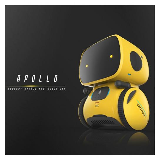 Интерактивный робот с голосовым управлением – AT-ROBOT (жёлтый)
