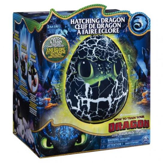 Як приборкати дракона 3: інтерактивний дракон Беззубок в яйці