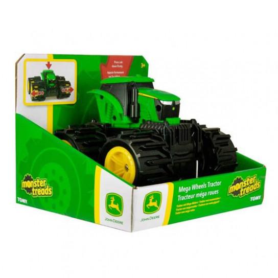 John Deere:трактор Monster Treads с большими колесами