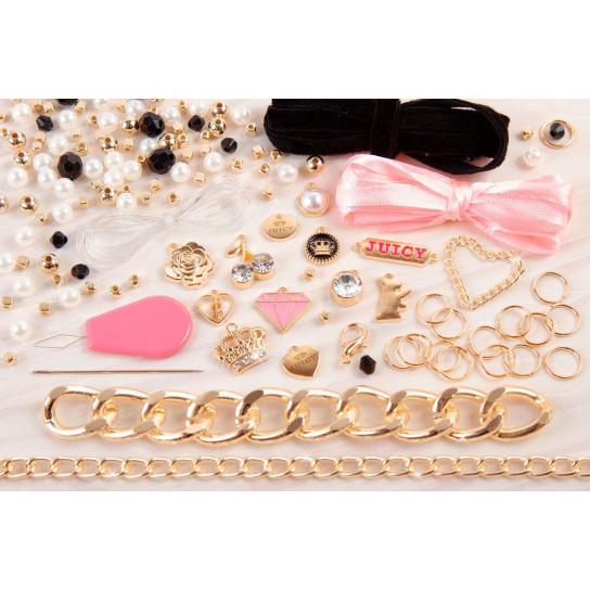 """Juicy Couture: Набор для создания шарм-браслетов """"Королевский шарм"""""""