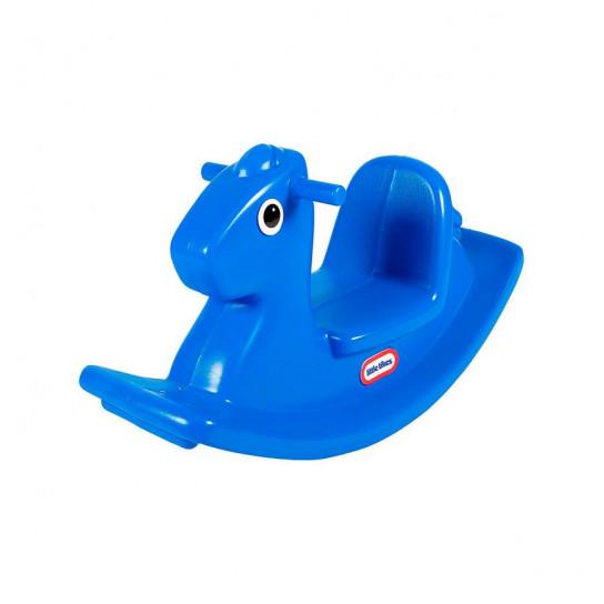 Качалка - Веселая лошадка S2 (синяя)